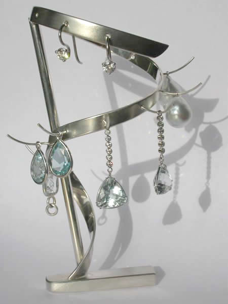 silver jewellery holder