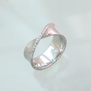 Mobius Diamond Ring